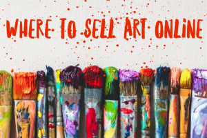 How to sell your paintings online